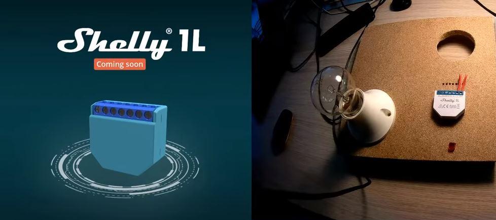A Shelly ma számos új terméket bejelentett: 6. rész – érkezik nyár végén a Shelly 1L és 2L, mely csak fázisvezetékkel működik majd